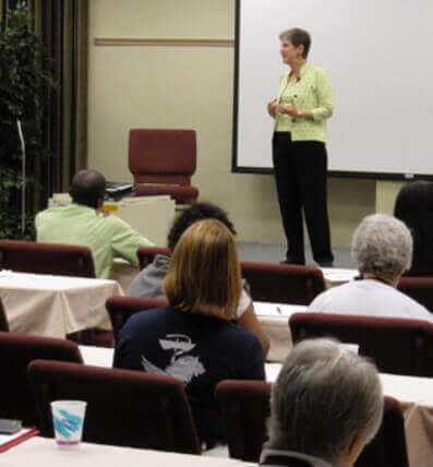 Helen Osborne Speaking on Health Literacy