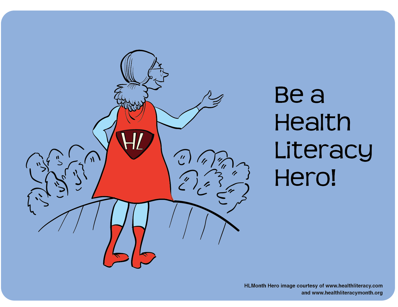Health Literacy Month Imagery